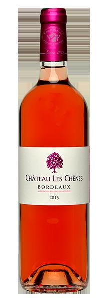 cheminade-vin-bordeaux-rose-chenes