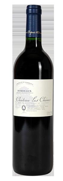 vin bordeaux cheminade les chenes rouge futs de chene